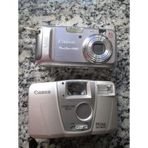 Dos Cámaras De Fotos Canon