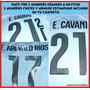 Numeros,transfers Estampado Uruguay 2014 Copa America 2015