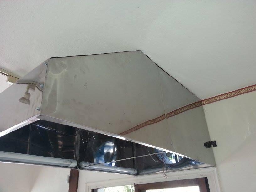 Campanas de cocina industriales ductos extractores - Extractores para cocinas ...