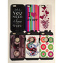 Carcaza Protector Iphone 6-4.7 Silicona Goma Colores