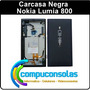 Carcasa Completa Negra Nokia Lumia 800