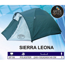 Carpa Iglu Sierra Leona Con Avance. 5 Personas