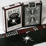 Bicycle Black Spider .mazo De Cartas, Magia O Poker Shadow