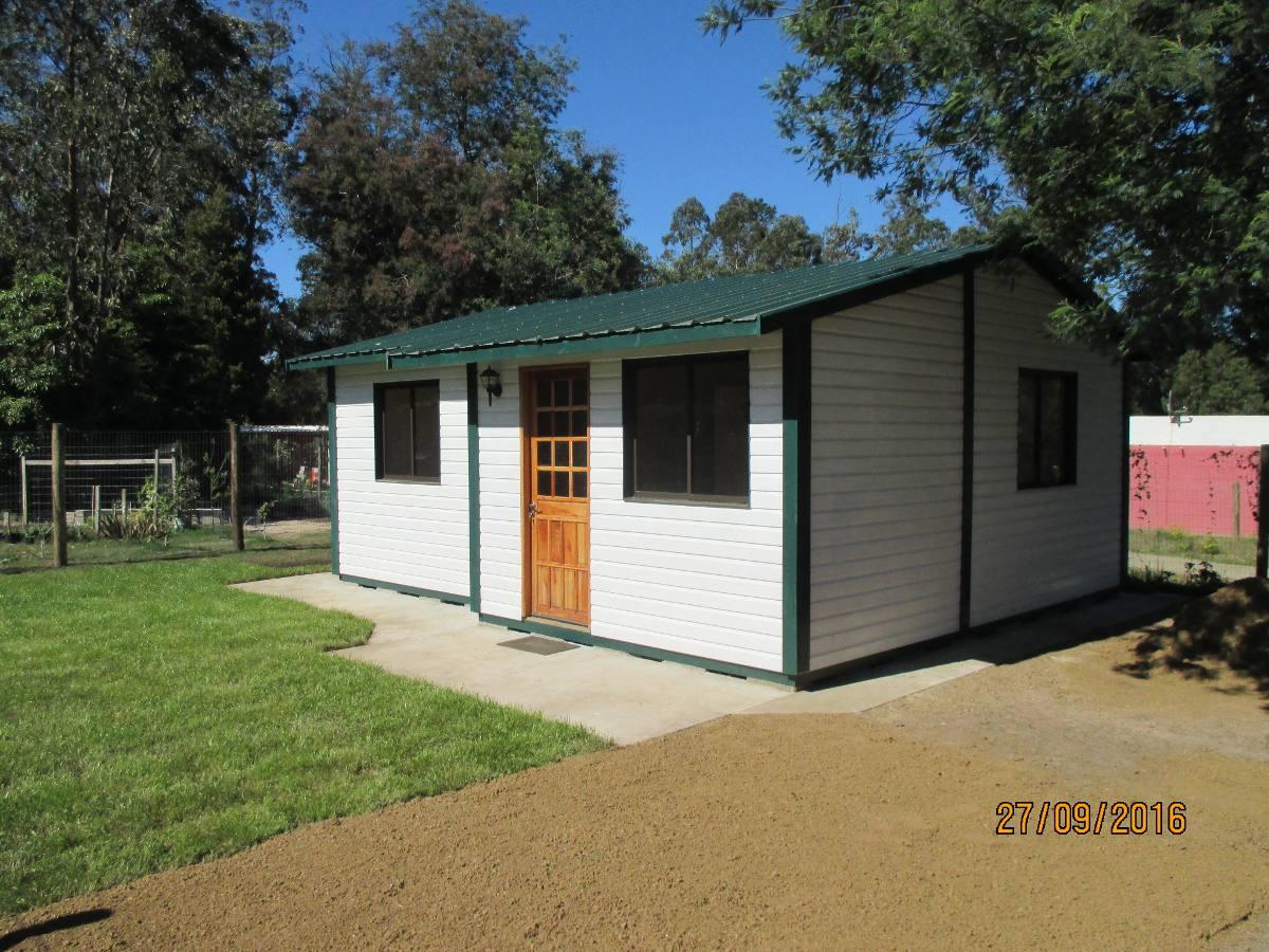 Casa economica cabana galpon de jardin villa argentina for Cabanas de jardin