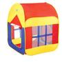 Carpa Infantil Con Techo Y Piso Colores Variados