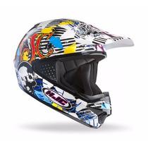 Nuevo Casco Moto Cross Hjc Cs-mx Clown 2016 Aprobado