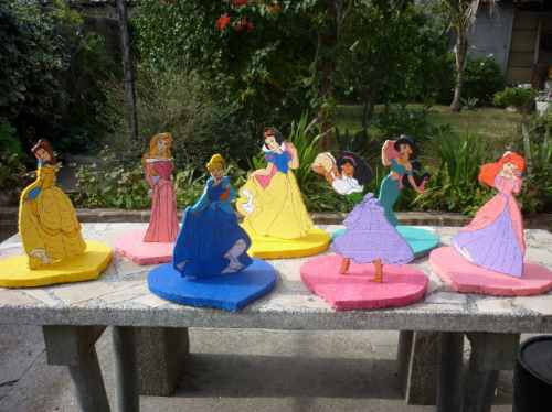 Como hacer centros de mesa princesas - Imagui