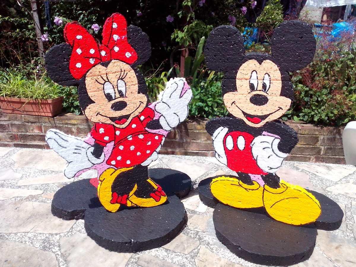 Cotillon minnie y mickey imagui for Mesa de cumpleanos de mickey