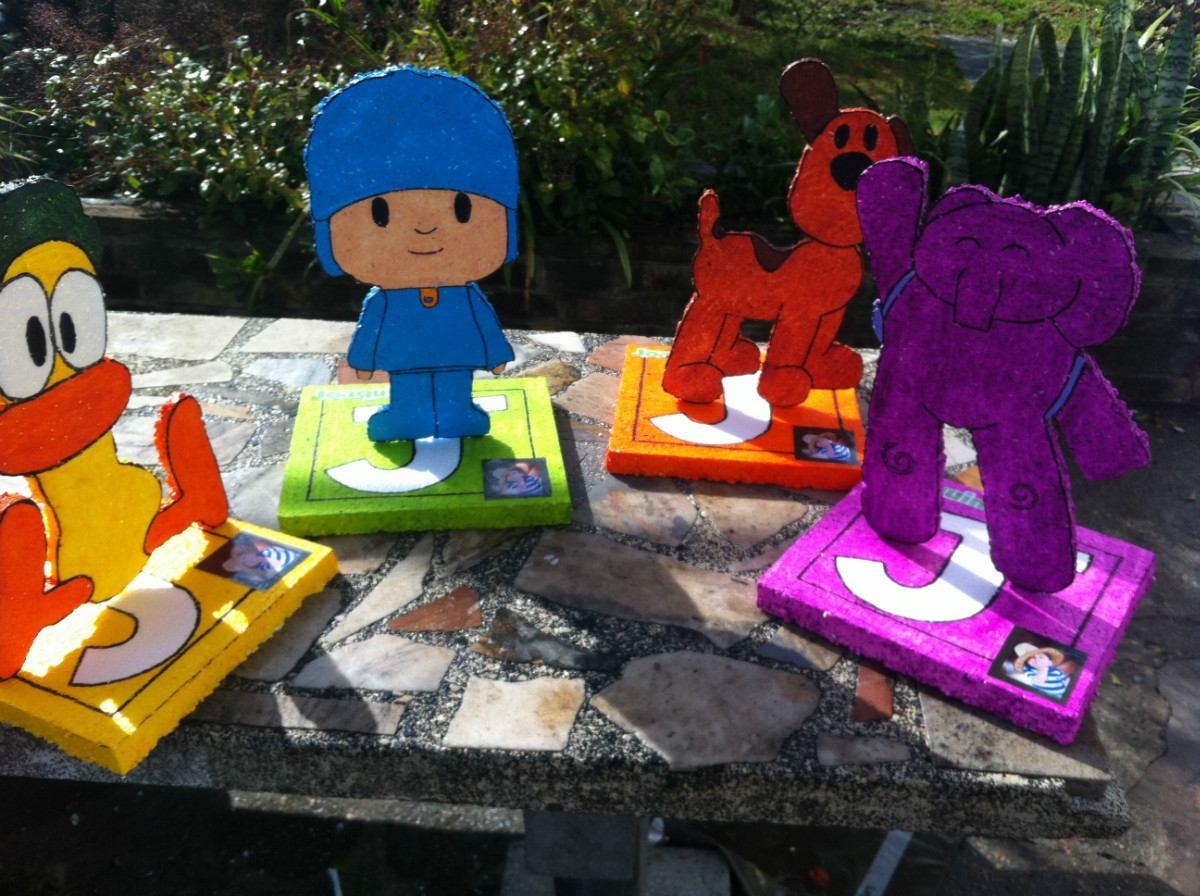 Centro de mesa infantiles de pocoyo y sus amigos cotillon - Centros de mesa para cumpleanos ...