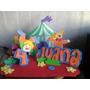 Adorno De Torta Para Cumpleaños Infantiles En Goma Eva $300