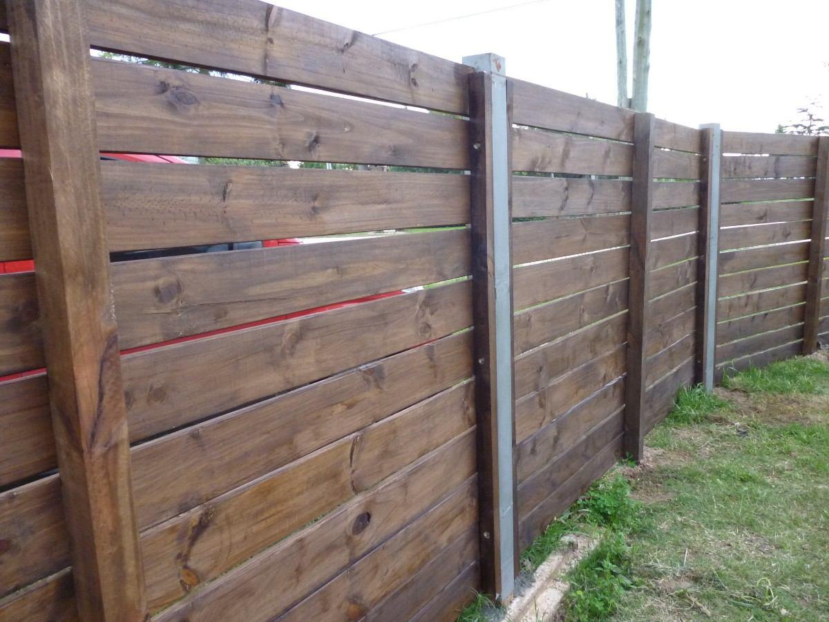 Cerca de madera cadillac - Cercas para jardines ...