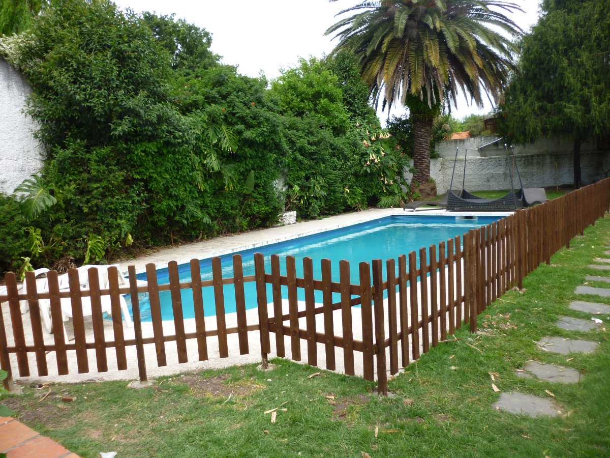 Cercas de madera related keywords cercas de madera long for Piscinas de jardin