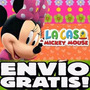 Kit Imprimible Minnie Mouse De La Casa De Mickey Exclusivo