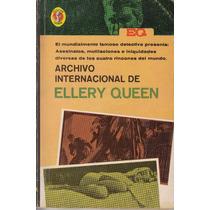 Archivo Internacional Detective Ellery Queen 1966 Vintage