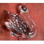 Antiguo Cisne De Cristal Sellado