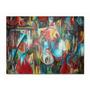 Cuadros Abstractos Peces Pintura Moderna Decoratica Arte