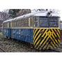 Tren De Afe Uruguay - Ferrobus - Lámina Abstracta 45x30cm