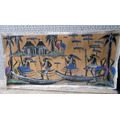 Pintura Africana En Lienzo Impecable