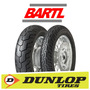 Cubierta Moto 130/90-15 Dunlop D404 Superlight V-blade Rider