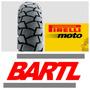 Cubierta Moto 90/90-18 Pirelli Dura Tracción Gs Street 125