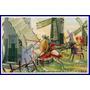 Don Quijote Contra Los Molinos De Viento - Lámina 45 X 30 Cm