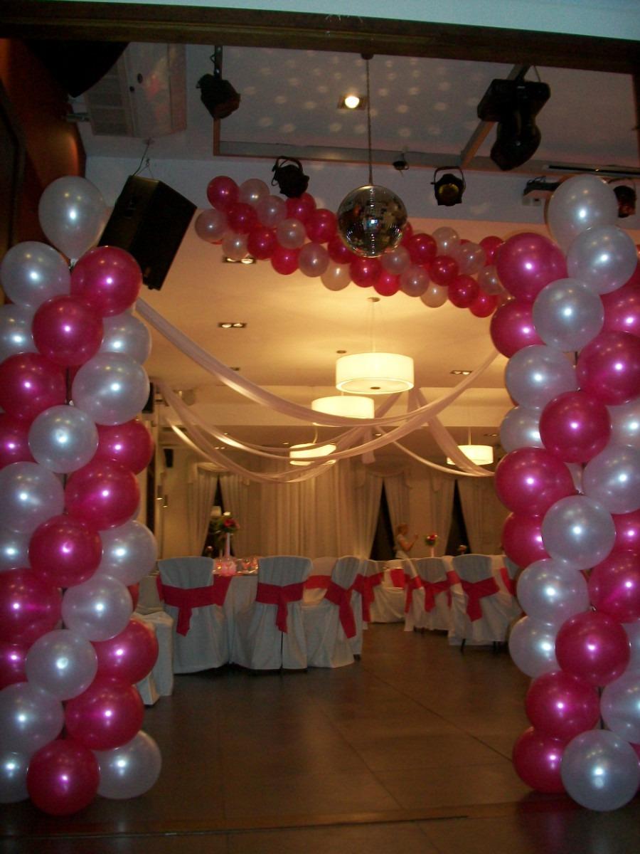 Como hacer arcos de globos de helio imagui - Como hacer decoracion con globos ...
