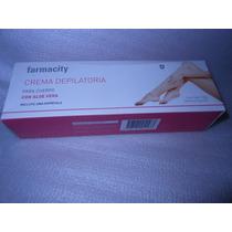 Crema Depilatoria Para Piernas Con Aloe Farmacity 120 G.