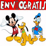 Kit Imprimible Mickey Donald Pluto Tarjetas Candy Invitacion