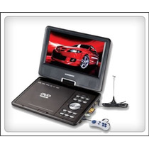 Dvd Portatil 9,5 C/tv Nordmende/multiofertas
