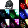 Par Led 18 X 1w Rgb Display Dmx Tacho Spot Luz Audioritmico