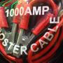 Cables P/ Puente Bateria Auto Camion Auxilio 1000 Amp Juego