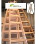 Escalera Pintor En Madera 6 Escalones Reforzada