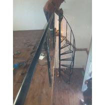 Escalera Caracol De 8 Escalones $4500 Colocada 6000