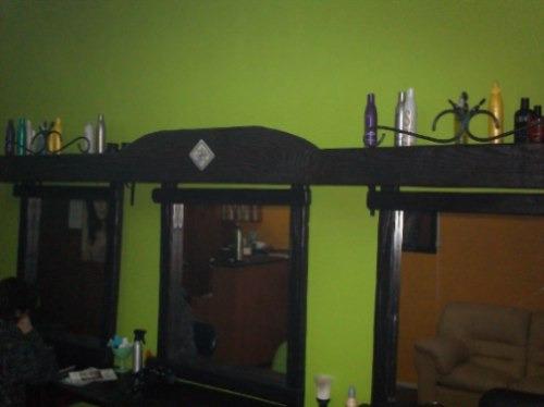 Espejo rustico para dormitorio living comedor etc 2 for Espejos en living o comedor