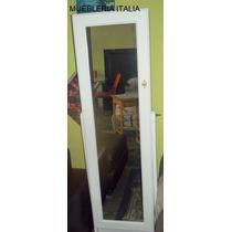 Espejo De Pie Regulable Con Repisa Ordenador Dormitorio