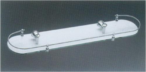Estantes De Cristal Para Baño:Estantes De Vidrio Para Baño Repisa Con Baranda – U$S 18,00 en