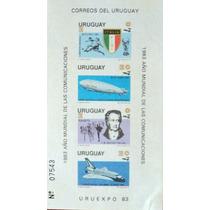 Osl Hojita 39a Sin Dentar Sello Uruguay. Comunicaciones 1983