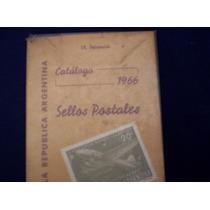 Filatelia,catalogo De Sellos De Argentina,1966