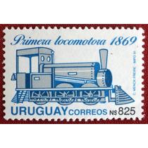 Osl Sello 1395 Uruguay. Primera Locomotora Tren