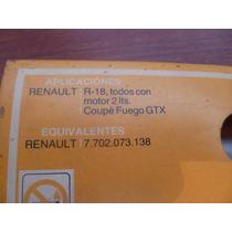 Filtro Renault 18 .fuego.