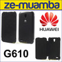 Protector Funda Huawei G610 Flip Cover Ascend G610 - Negro
