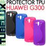 Protector Funda De Tpu Premium Huawei G300 Ascend S Line