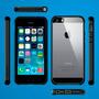 Funda Protector Iphone 5 /5s Spigen Ultra Hybrid + Regalos!