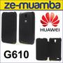 Protector Funda Huawei G610 Flip Cover Ascend G610 - Negro