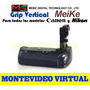 Grip Vertical Meike Para Nikon, Canon, Sony, Etc