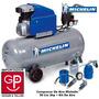Compresor De Aire Michelin 50 Lts 2hp + Kit De Aire