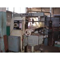 - Fresadora Universal Wecheco Fu-3 Completa Y Funcionando -