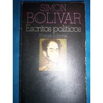Historia -simon Bolivar- Escritos Políticos - Cuadro Cronol.