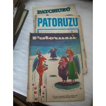 3 Revistas Patoruzu De Los Años 1967- 71 Y 75 Coleccionables