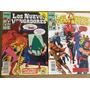 Lote Los Nuevos Vengadores - Forum - Nros. 37 Y 42 - 1990